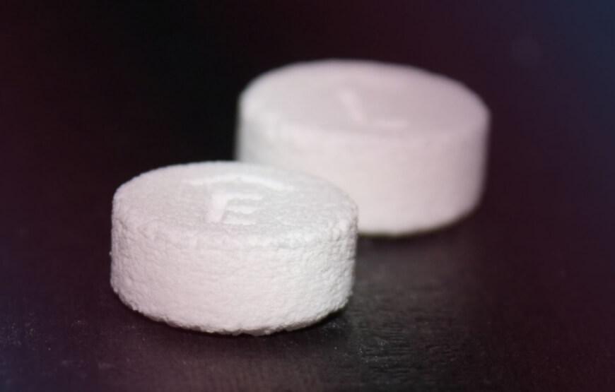 3D printed drug