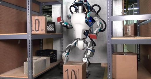The humanoid robot Petman