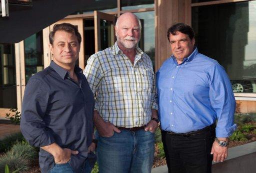 Peter H. Diamandis, MD, J. Craig Venter, PhD and Robert Hariri, MD, PhD, founders of Human Longevity Inc.