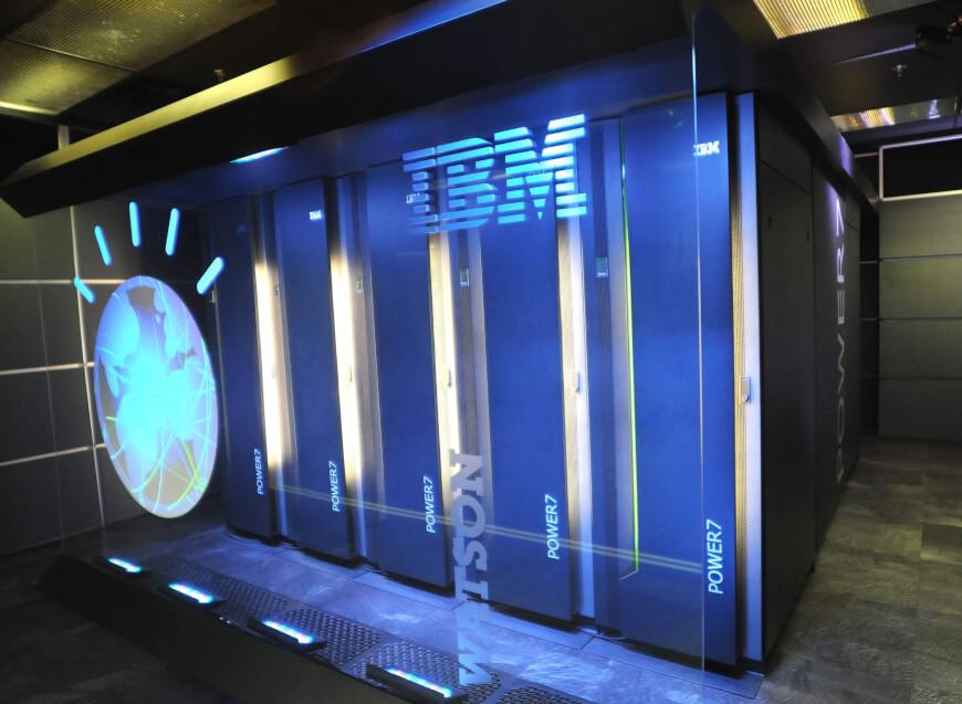 IBM Watson's mainframe