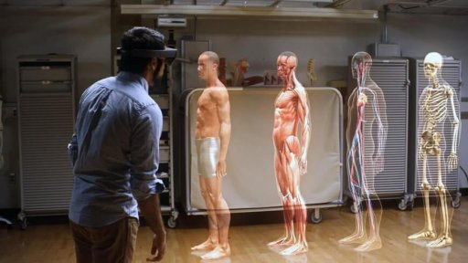 Augmented reality through Hololens used in medical education