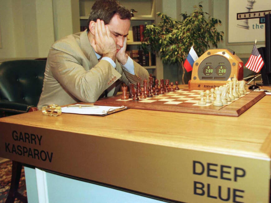 Kasparov vs Deep Blue by IBM