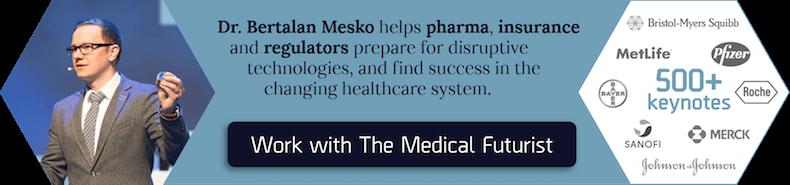 Work with Dr. Bertalan Mesko, top bioethical speaker