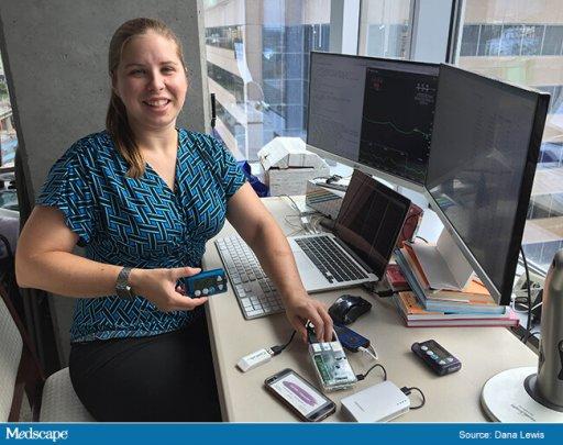 dana lewis digital health technology saving life