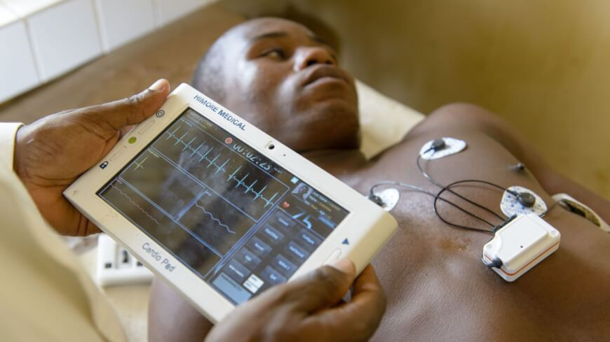 Cardiopad - Innovative Health Technologies to the poor
