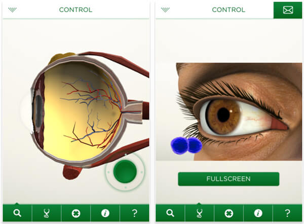 EyeDecide - Augmented Reality in Medicine