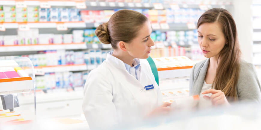 Future of Pharmacies - Pharmacist and Patient