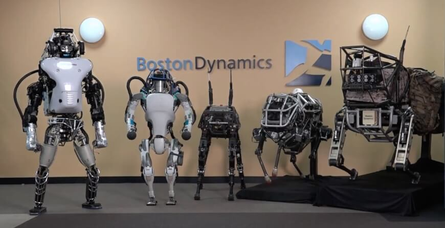 Boston Dynamics - Tech Companies in Healthcare