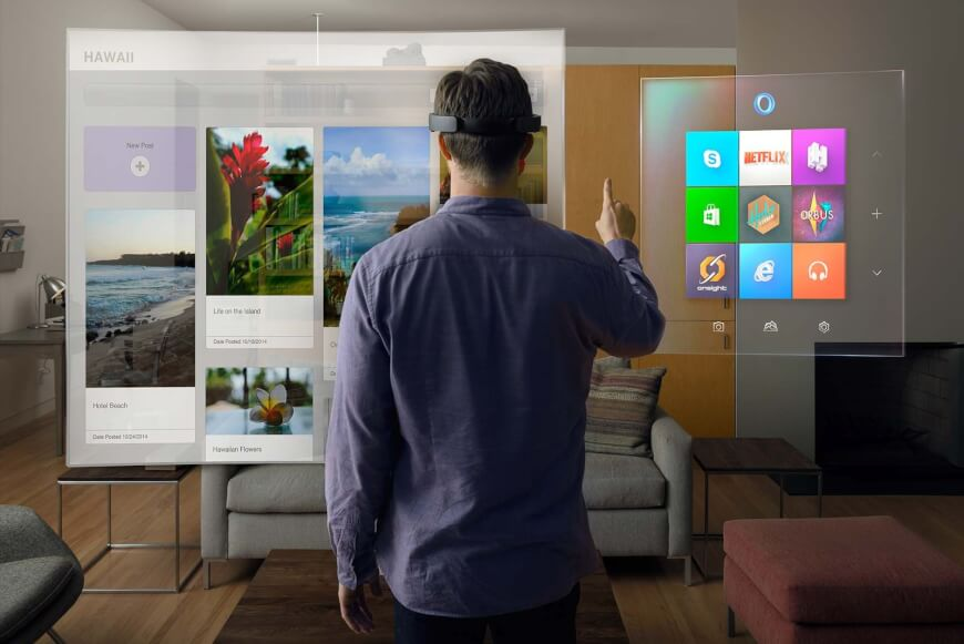 Microsoft Hololens - Tech Companies in Healthcare