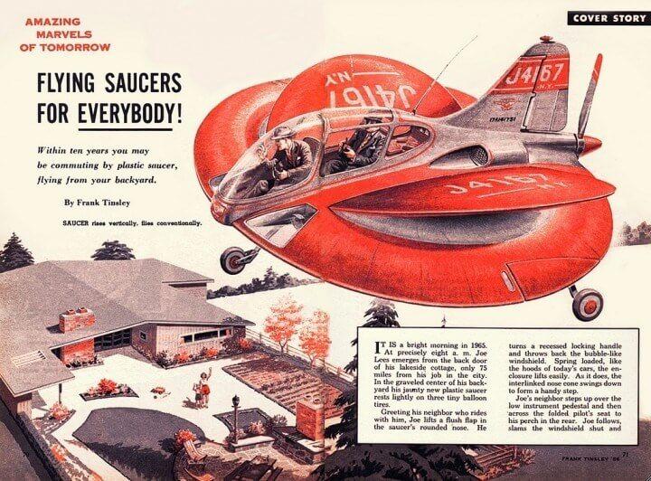 Plastic Saucer - Science Fiction