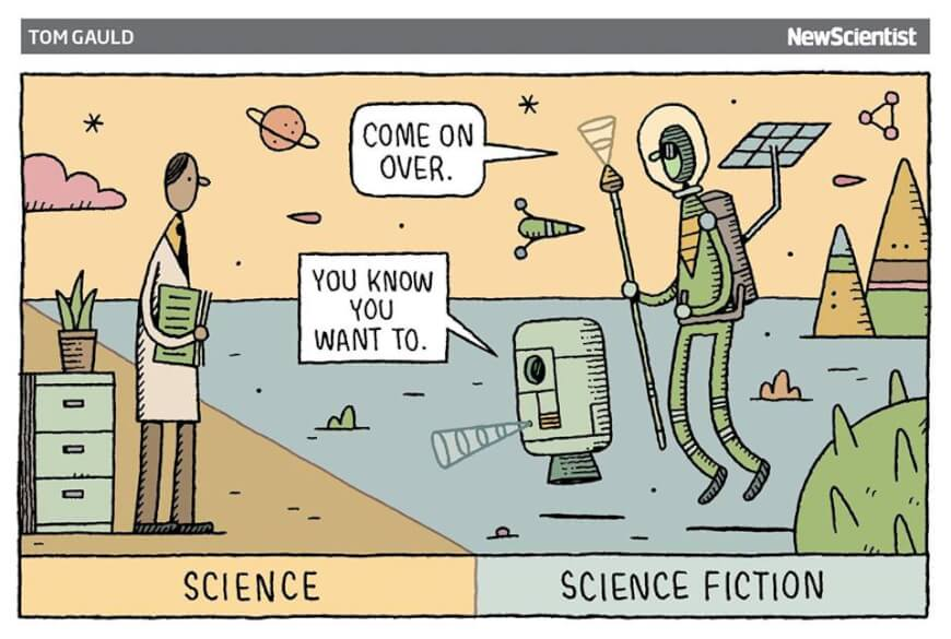 Science and science fiction