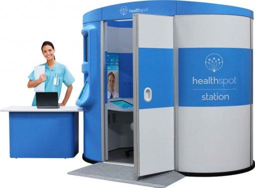Telemedicine Healthspot Kiosk - Overhyped Technologies