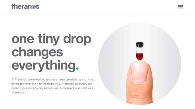 Theranos - Overhyped Technologies