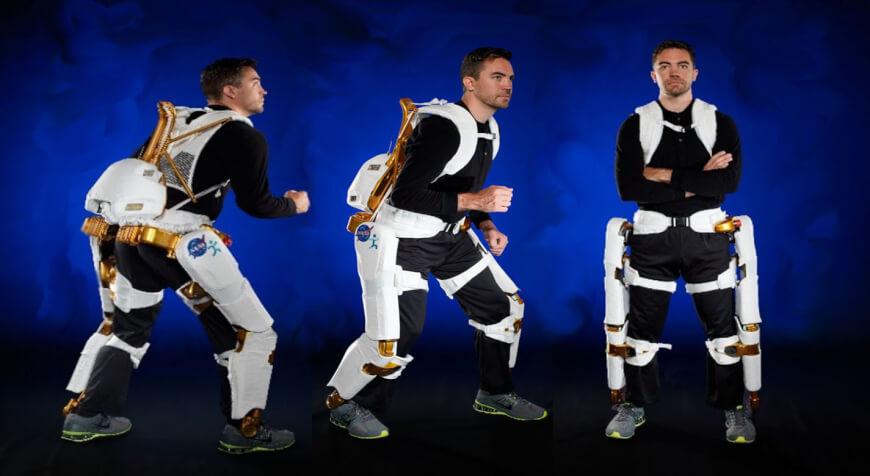 Exoskeleton astronaut