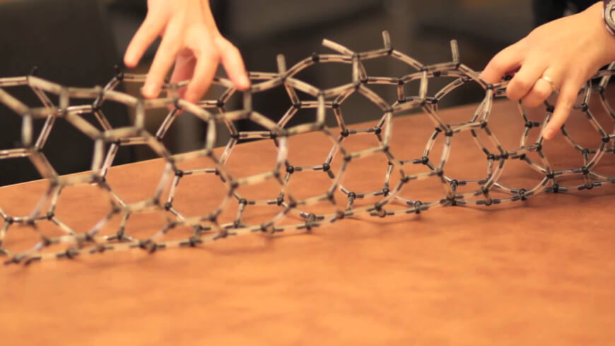 Carbon Nanotubes Model - Nanotechnology in Healthcare