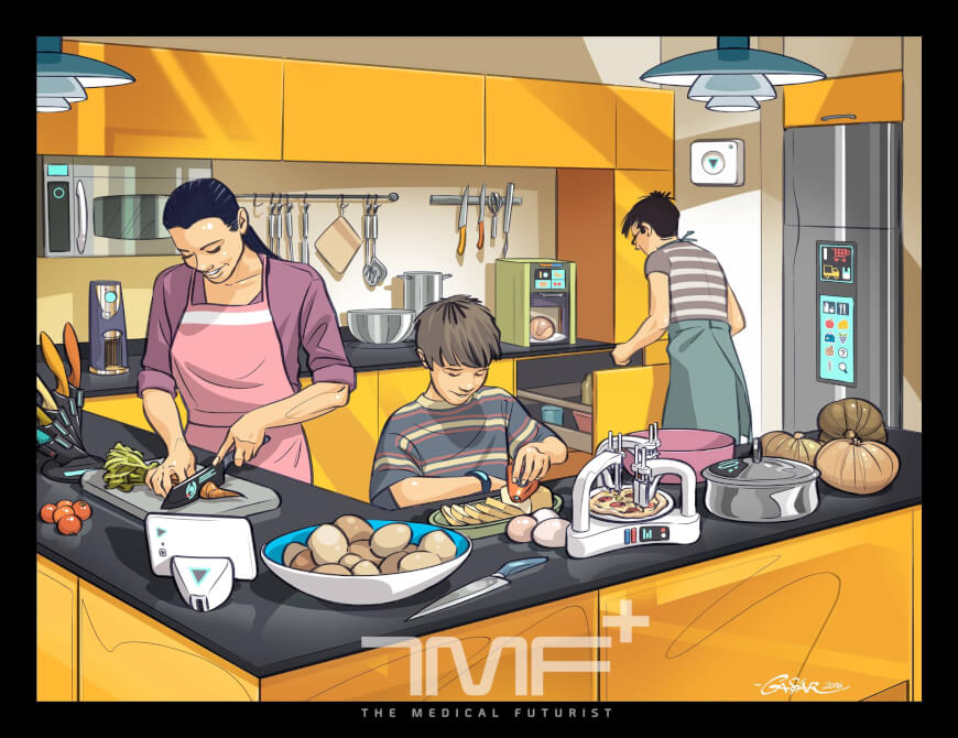 Kitchen of the Future - Future of Food