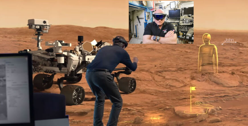 NASA and HoloLens - Digital Health Technologies for Space Travel