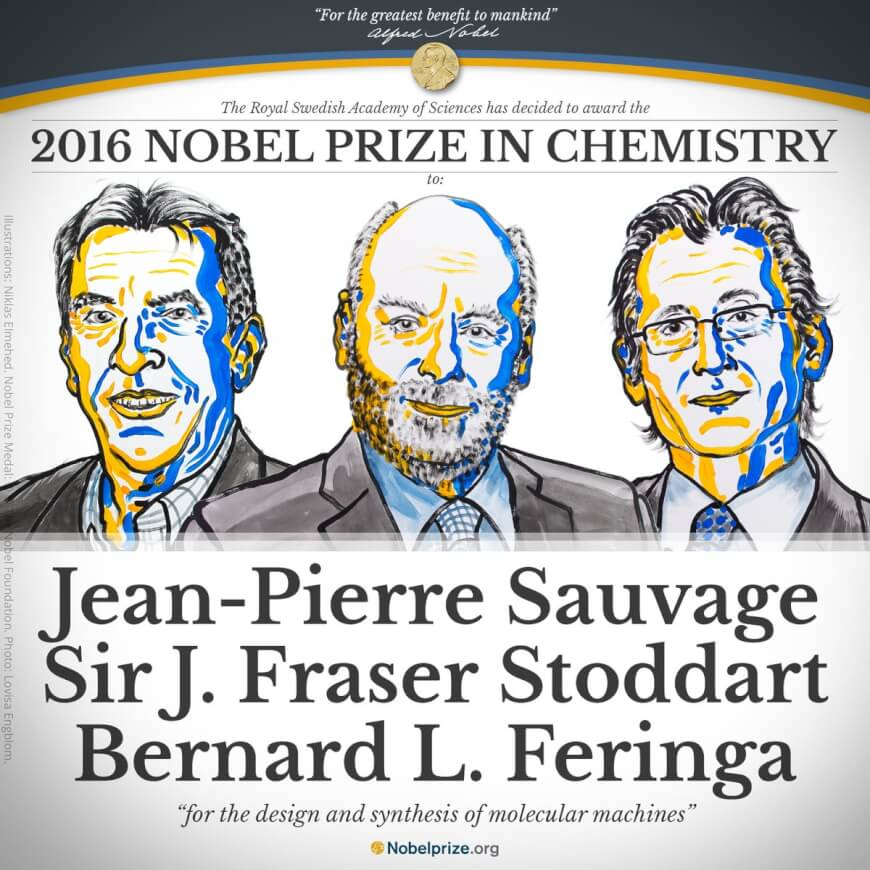 Nobel Prize in Chemistry - Nanotechnology in Healthcare