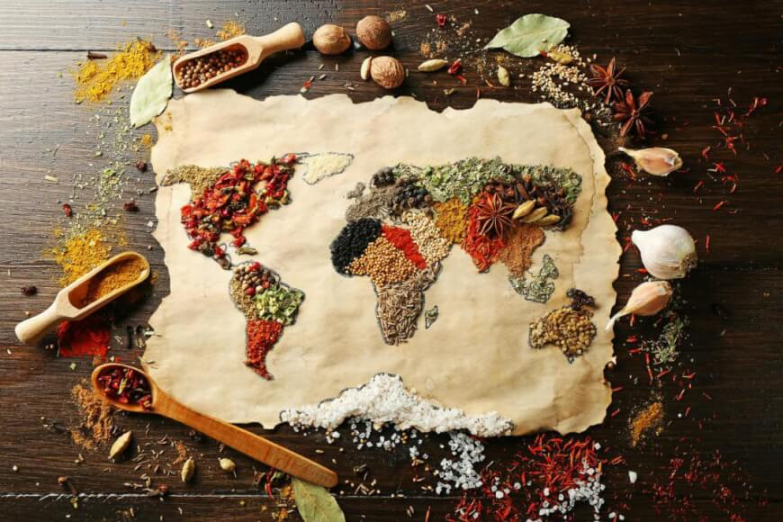 World Food Map - Future of Food