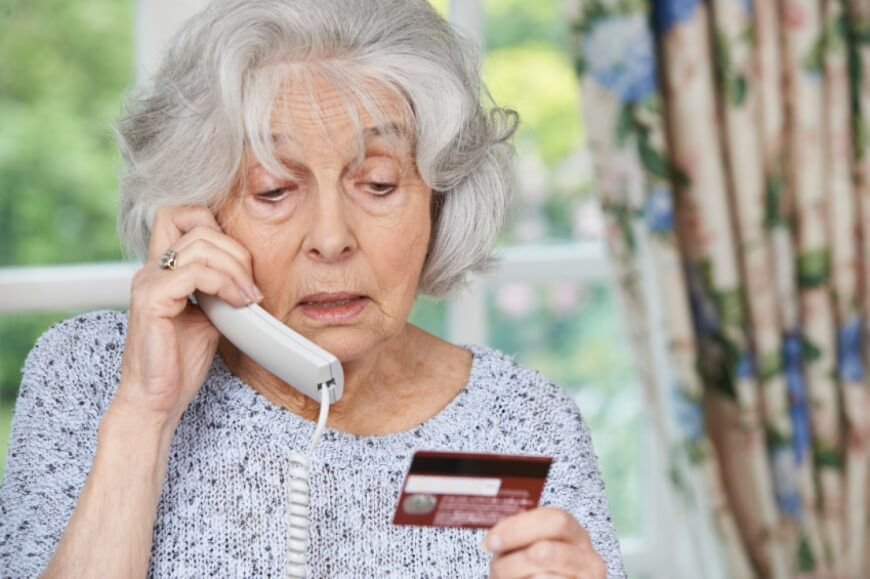 Grandma with telephone - Technological Developments for the Elderly