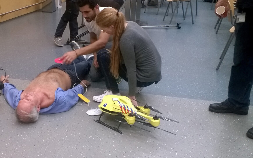 Ambulance Drones - Scary Medical Technologies