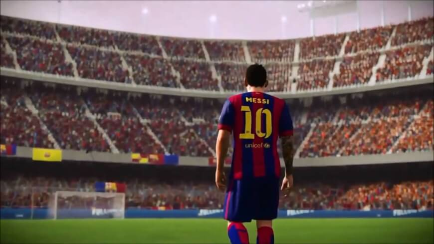 First Vision with Messi - Future of Sporting Events