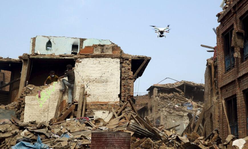 Disaster Relief Drones - Drones in Medicine