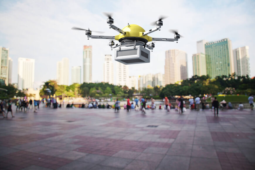 Future of Delivery - Medical Drones