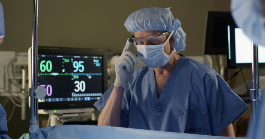Google Glass - Future of Surgery