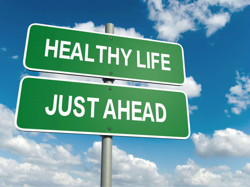 Healthy Life_Just Ahead - Lifestyle Change