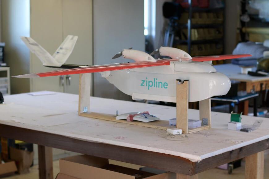 Zipline medical drone - Medical Drones