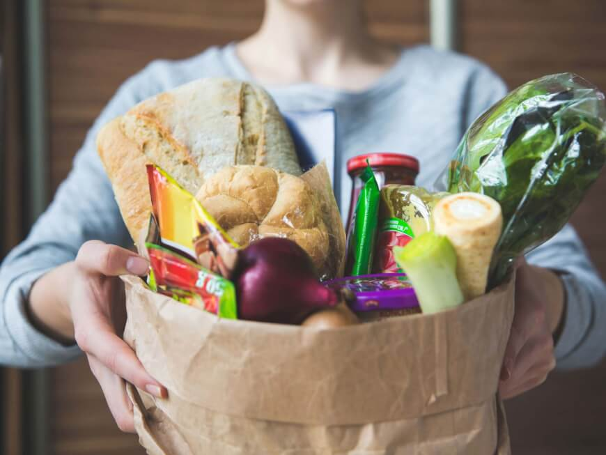 Grocery Being Delivered - Technology Saving Time for a Healthier Life
