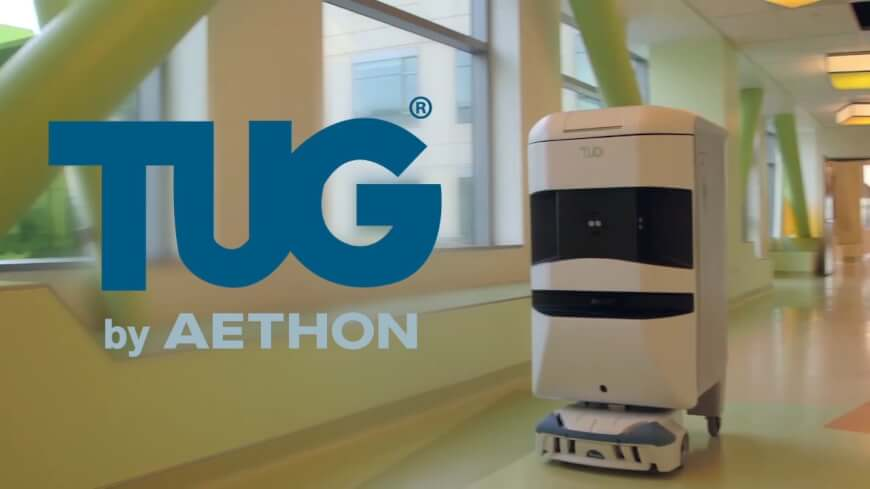 TUG by AETHON - Healthcare Companies in Robotics