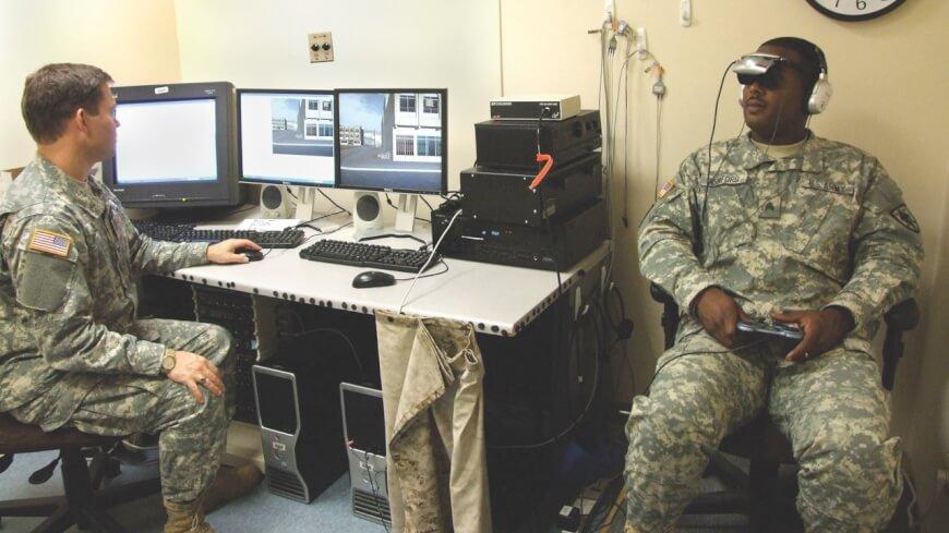 Bravemind_PTSD_VR companies in healthcare