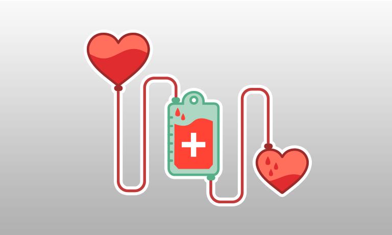 Incentivizing blood donation