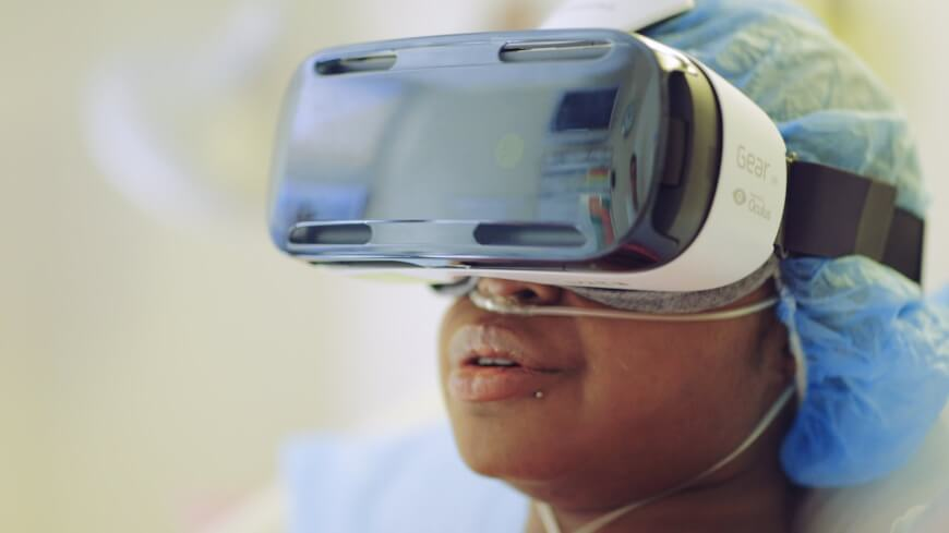 Virtual Reality Is Used in Clinical Practice