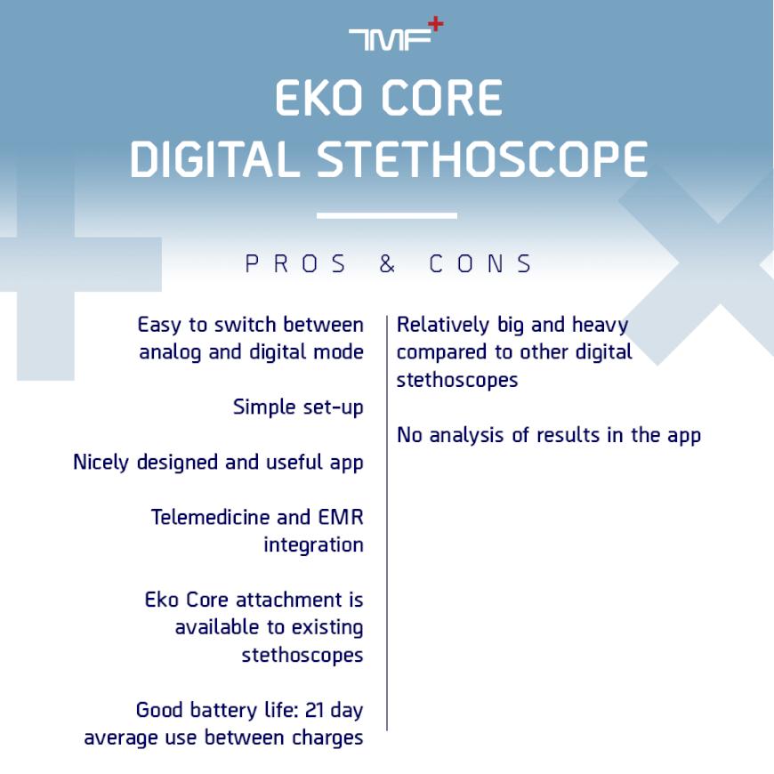 Eko Digital Stethoscope_Pros_Cons