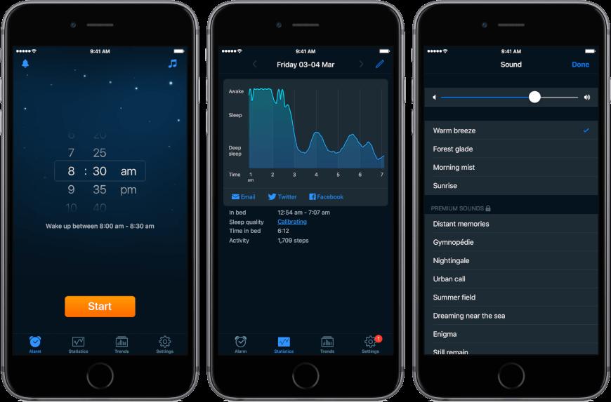 top sleep apps